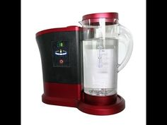 A Video on the Lourdes Hydrogen Water Machine with an explanation about how powerful molecular hydrogen is as an antioxidant. Want to learn more about molecu. Water Generator, Hydrogen Water, Drip Coffee Maker, Tech, Health, Youtube, Recipes, Water, Health Care