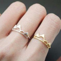 """ Everest"" Adjustable Rings"