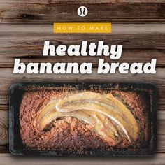 healthy (and gluten-free!) banana bread 1 1/4 cups smashed ripe banana 3 free range organic eggs 2 tbs raw honey or organic maple syrup 1 tsp vanilla 1/4 cup macadamia nut oil, coconut oil or cold pressed olive oil half teaspoon ground cinnamon 1/2 tsp baking soda + 1 tbsp lemon juice 2 cups almond meal 1/4 cup ground flaxseed (linseed) or chia seed