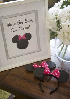 Cute party favors for a Minnie Mouse Birthday Party. Mickey ears for boys! Second Birthday Ideas, 3rd Birthday Parties, Birthday Fun, Third Birthday, Minnie Mouse 1st Birthday, Minnie Mouse Theme, Minnie Mouse Birthday Decorations, Bash, Mickey Party