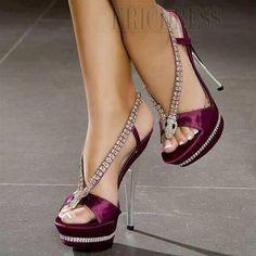 Sexy Rhinestones Snake High Heels Women's Sandals Stiletto Sandals