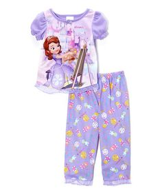 Sofia the First Purple  Royal Painting Party  Pajama Set - Toddler 0fde81cd6