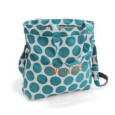 Check out this awesome new addition to the Retro Metro Collection. This everyday tote fits folders and notebooks in the main compartment, and the interior zipper pocket is sized just right to store your tablet. Two exterior pockets are perfect for your iPod, phone, camera, water bottle and more!  www.mythirtyone.com/dgreenwood31