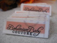 Twill Knitting Labels