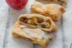 Super Easy Puff Pastry Apple Strudel