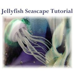 Jellyfish Seascape - Lampwork Tutorial by Mary Lockwood