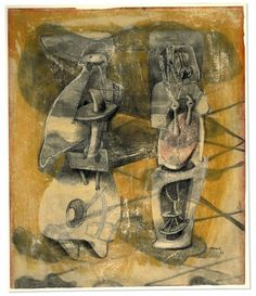 Henry Moore - drawing