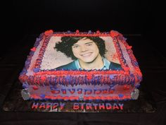 One Direction Cake My Dream Cake, One Direction Cakes, Cupcake Cakes, Cone Cupcakes, Birthday Parties, Birthday Cake, Food Art, Art For Kids, Cake Decorating