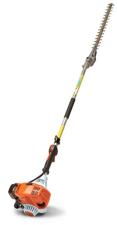The stihl hl 45 extended reach hedge trimmer it features a 26 long with a 42 shaft length the hl 100 k 0 extended reach hedge trimmer from stihl is the professional landscapers answer to extra tall and wide hedges keyboard keysfo Choice Image