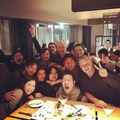 R/GA Tokyo dinner with Jim last week #rgatokyo #A5