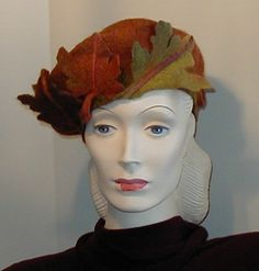 Womens hat Beret Classic Style Hand-felted от craftybabs на Etsy
