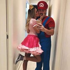 couple halloween costumes – Couples Halloween Costumes Ideas Photos) – Page 14 of 17 – Inspired Beauty Cute Couples Costumes, Cute Couple Halloween Costumes, Cool Costumes, Halloween Ideas, Disney Couple Costumes, Group Costumes, Princess Peach Halloween Costume, Family Halloween, Good Couple Costumes