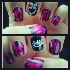 R5 nails(: NEED TO FIGURE OUT HOW TO DO THESE BEFORE SATURDAY!!!!!!