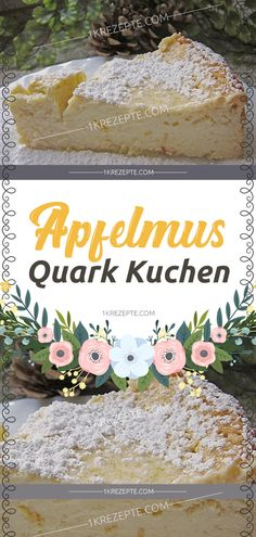 Apfelmus Quark Kuchen really great juicy ! Applesauce Quark Cake Recipes Ingredients: 1 glass of applesauce 100 g butter, soft 200 g sugar 4 egg [. Cupcake Recipes, Cookie Recipes, Snack Recipes, Fall Desserts, Cookie Desserts, Easy Smoothie Recipes, Cinnamon Cream Cheeses, Pumpkin Spice Cupcakes, Ice Cream Recipes