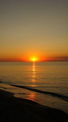 Lake Michigan Sunset...