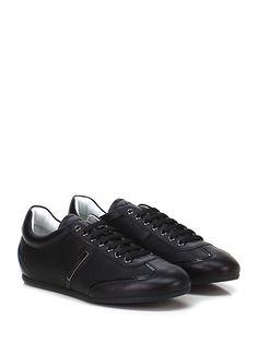JOHN RICHMOND - Sneakers - Uomo - Sneaker in pelle e vernice con suola in gomma. - BLACK - € 220.00