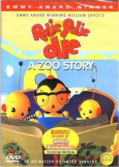 Rolie Polie Olie - A Zoo Story DVD Movie Movie Gifs, Movie Tv, William Joyce, Fooling Around, Binky, The Hard Way, Take A Nap, 3d Animation, Inventions