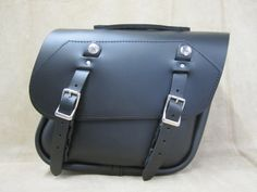 Leather Saddlebags | Motorcycle Saddlebags | 105 Leather Saddlebags