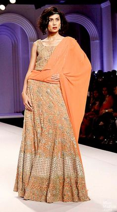 Adarsh Gill India Bridal Fashion Week 2013