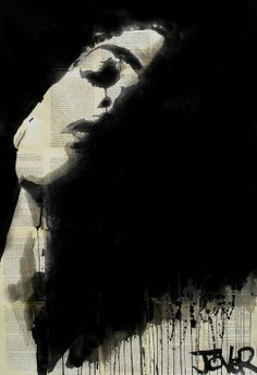 "Saatchi Art Artist: Loui Jover; Ink 2013 Drawing ""dark and light"""