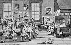 17th century London Coffee Houses