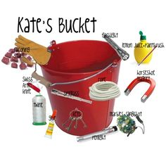 the mysterious benedict society kate's bucket | Kate's Bucket - Polyvore