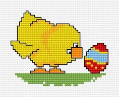 18 σχέδια σταυροβελονιά για Πασχαλινά κεντήματα και κάρτες(Πασχαλινά αυγά  0f9dc327b9d