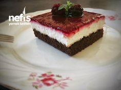 Böğürtlenli Karaorman Pastası(Hafif Lezzet) Cheesecake, Desserts, Food, Tailgate Desserts, Deserts, Cheese Cakes, Eten, Postres, Dessert