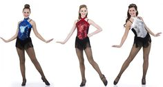 Out With The Stars Ice Skating Jazz Tap Chicago Flapper Dress Dance Costume USA #Cicci