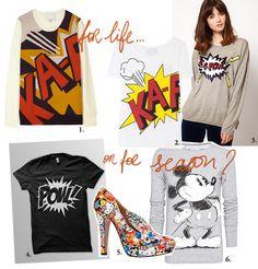 Trend Spotting: comics. Which one is your favorite item? all details on the blog/