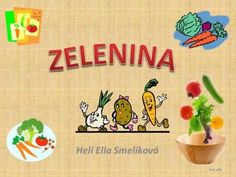ZELENINA Slovak Language, My Roots, Elementary Science, Kids Songs, Games For Kids, Homeschool, Crafts For Kids, Education, Youtube