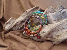 Boho Medley bracelet Carnelian, Turquoise Necklace, Beaded Bracelets, Boho, Jewelry, Design, Fashion, Moda, Jewlery