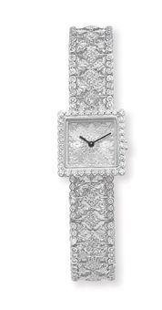 Buccellati diamond watch