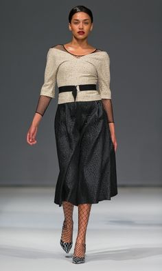 Carin Wester | Fashionweek Stockholm Fashion Week, Lace Skirt, Fashion Show, Dresses For Work, Skirts, Sweaters, How To Wear, Design, La Mode