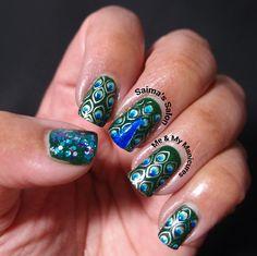 Saima's Salon: Twin Tuesday: Peacock Parade #chinaglaze