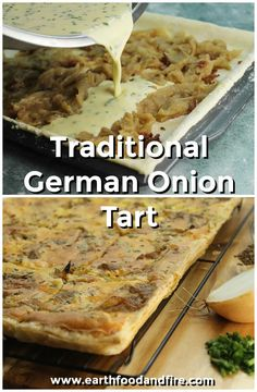 This traditional German onion tart, is super easy to make and perfect as a light lunch or supper served with a simple salad. recipes recipes chicken recipes chicken recipes Source by bizzeewoman Food Recipes Casseroles, Food Recipes Homemade Vegetable Dishes, Vegetable Recipes, Vegetarian Recipes, Cooking Recipes, Vegetarian Lunch, Cooking Food, Mini Quiches, Austrian Recipes, German Recipes