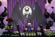 Little Wish Parties | Maleficent Party | https://littlewishparties.com