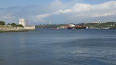 Tagus River. Rio Tejo. Lisbon, Portugal.