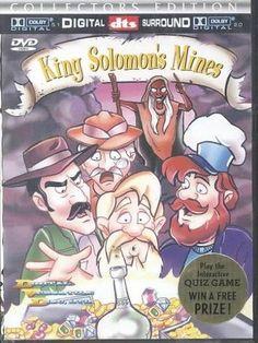 King Solomons Mines (Dvd)-Nla!