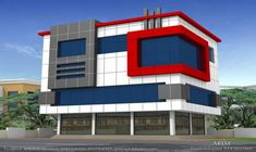 commercial building for sale, Ground earn INR, kw G is for sale – Palakkad – Office – Commercial Space – ELEVATION Commercial Building Plans, Commercial Buildings For Sale, Commercial Complex, Commercial Architecture, Modern Architecture, Building Elevation, House Elevation, Facade Design, Exterior Design
