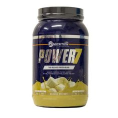 Free Sample of GT Nutrition POWER7 Banana Protein PrettyThrifty.com #supplementsamples #freesamples