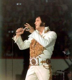 April 22, 1977: Elvis performed at the Olympia Stadium, in Detroit, Michigan