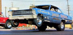 Early 'Jungle Jim' Nova F/C - From the pages of Car Craft  Hot Rod Magazines