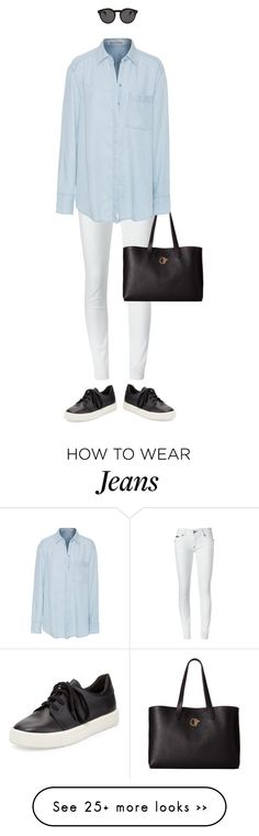 """""""."""" by fashionmonkey1 on Polyvore featuring Philipp Plein, Versace, Acne Studios, Vince and Illesteva"""