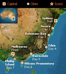 Sydney to Melbourne Coastal Drive. What are you doing this Christmas?