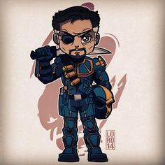 Slade Wilson fanart by lordmesa-art