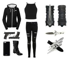 """modern assassins outfit"" by savana1472 ❤ liked on Polyvore featuring art and modern"