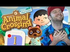 Animal Crossing: New Horizons - YouTube Nintendo Ds, Nintendo Switch, Animal Crossing, Fallout Vault, Cool Stuff, Boys, Youtube, Animals, Fictional Characters
