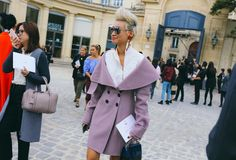 All the best street style photos from Paris Fashion Week Spring 2017.