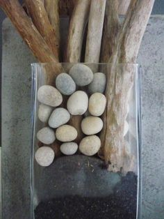 stones and wood
